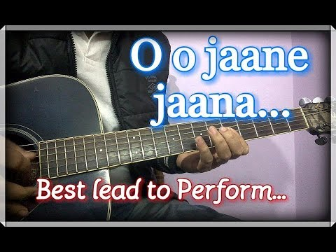 O o Jaane Jaana Guitar Intro & Tabs | School/College Performance ...