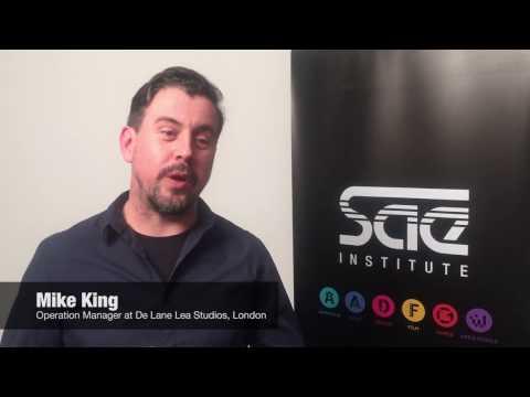 Guest Lecture: Mike King, De Lane Lea Studios, London