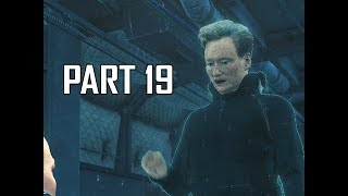 Conan O'Brien - DEATH STRANDING Walkthrough Part 19 (PS4 Pro)