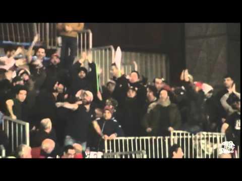 Cantù vs Caserta: l'ingresso dei tifosi Casertani