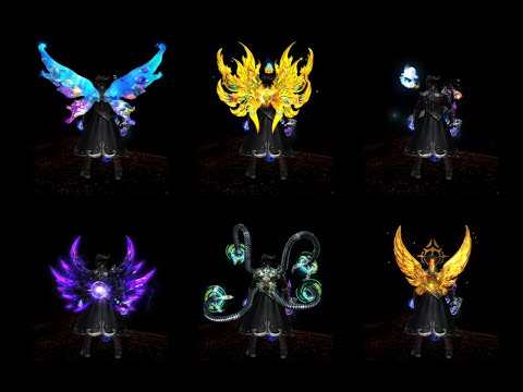 Cabalph all force wing costumes |