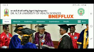 NTR university MBBS/BDS Web Options Entry|fee details|allotment letters|special category Counselling