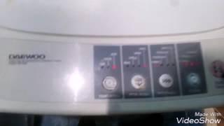 Стиральная машина DAEWOO не работает отжим.