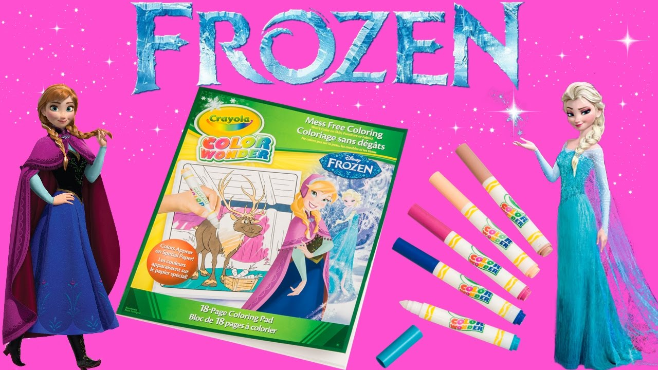 Disney Anna Frozen Crayola Coloring Book