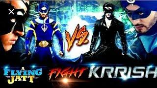 Download Video Krrish VS flying Jatt /Krrish VS flying Jat fight MP3 3GP MP4