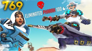 Junkrat Goes Ninja MODE!!   Overwatch Daily Moments Ep.769 (Funny and Random Moments)