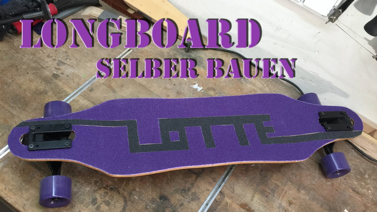 longboard selber bauen kinder longboard deutsch youtube. Black Bedroom Furniture Sets. Home Design Ideas