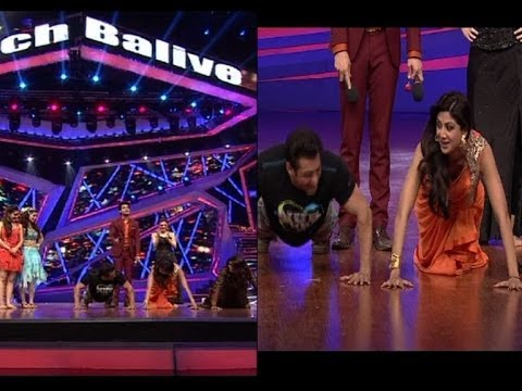 When Shilpa Did Push Ups With Salman Khan