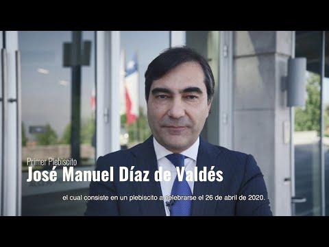 Primer Plebiscito- José Manuel Díaz de Valdés