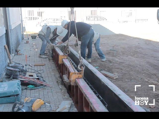 VÍDEO: La ejecución de la pista de balonmano playa terminará a mediados de febrero