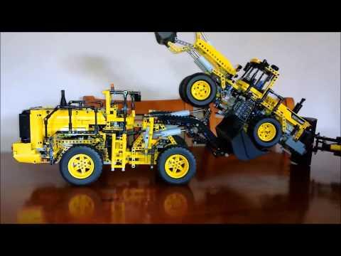 lego-technic-volvo-loader-42030-lifting-loader-8265