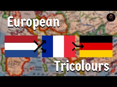 The Flag-Flipping History of the European Tricolour