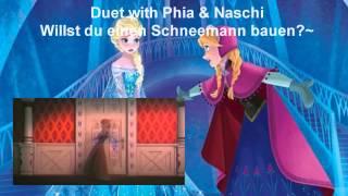 【Phia & Naschi】Frozen: Willst du einen Schneemann bauen?