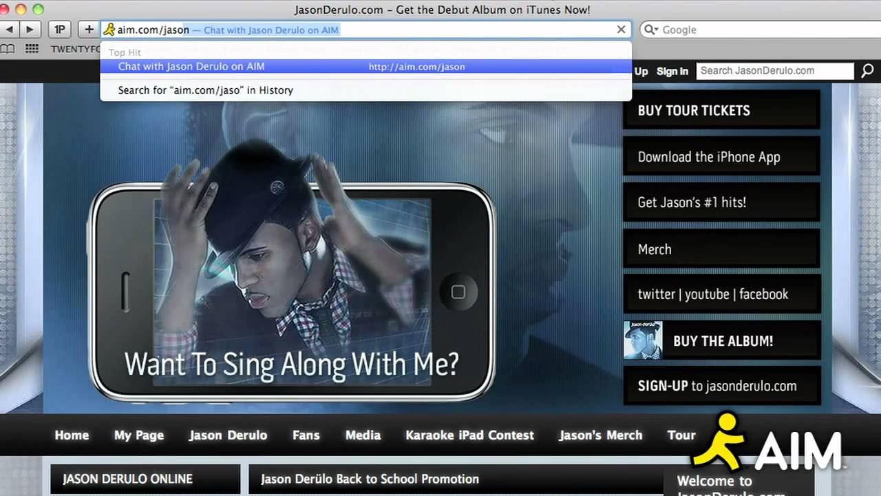 Download Get on AIM to chat with Jason!