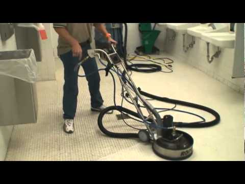 Rotovac 360i Tile and Grout Cleaning