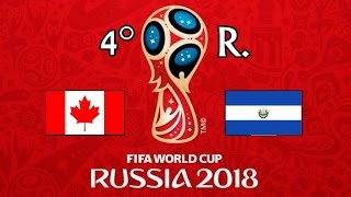 CANADA v. EL SALVADOR - CONCACAF 2018 FIFA World Cup - GRUPO A
