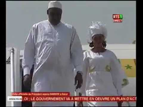 President Adama Barrow first visit to Senegal