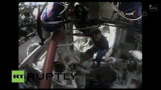 LIVE: Third ISS Expedition 42 NASA Spacewalk