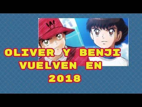 Vuelve Oliver y Benji (supercampeones, Capitan Tsubasa) en 2018