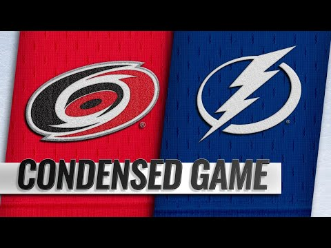01/10/19 Condensed Game: Hurricanes @ Lightning