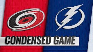 01/10/19 Condensed Game: Hurricanes @ Lightning
