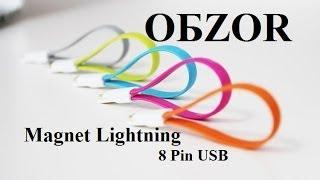 Обзор | Magnet Lightning 8 Pin USB | для Apple