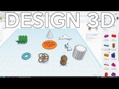 Le design 3D pour débutants avec Tinkercad