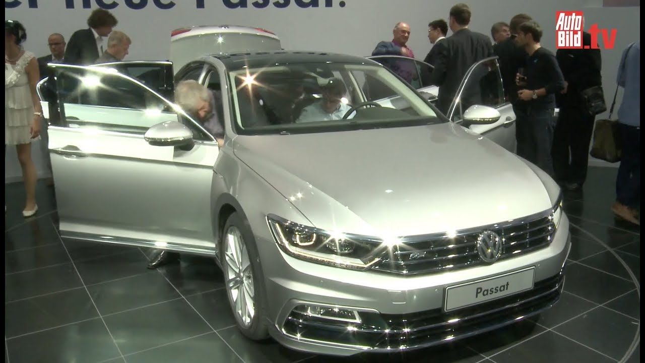 vw passat b8 2014 weltpremiere youtube. Black Bedroom Furniture Sets. Home Design Ideas