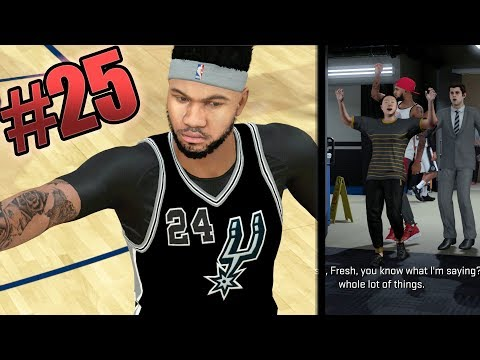 NBA 2k18 MyCAREER - B-Fresh Ruins Everything! Down 20pts on HOF + Under Armour Decision! Ep.25
