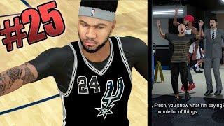 NBA 2k18 MyCAREER - B-Fresh Ruins Everything! Down 20pts on HOF + Under Armour Decision! Ep.25