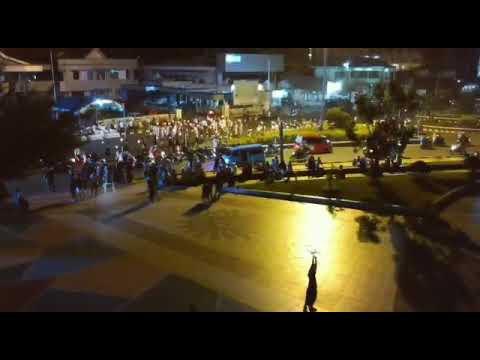 #Ternate 'pawai obor (malam takbiran) vlog02