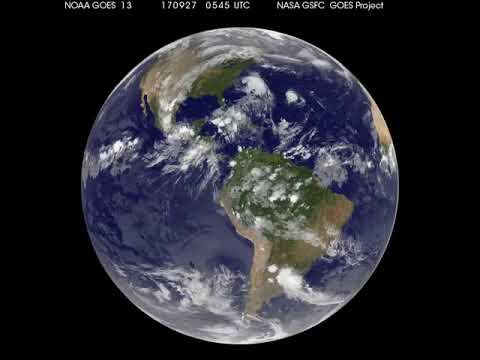Satellite Animation Shows the End of Maria and Lee