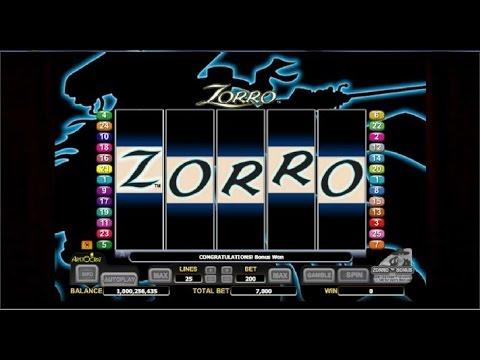Online Zorro Slot Machine