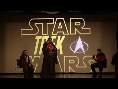 Star Wars Vs Star Trek - The Sci-Fi Wars Debate @ ΦantastiCon 2017