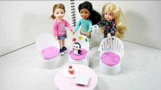 Make Patio Furniture For Your Doll House From Plastic Cups - Doll Crafts