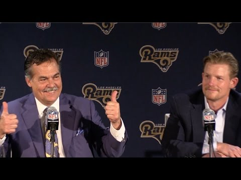 Rams select Jared Goff with No. 1 pick, Jeff Fisher and Les Snead discuss selection