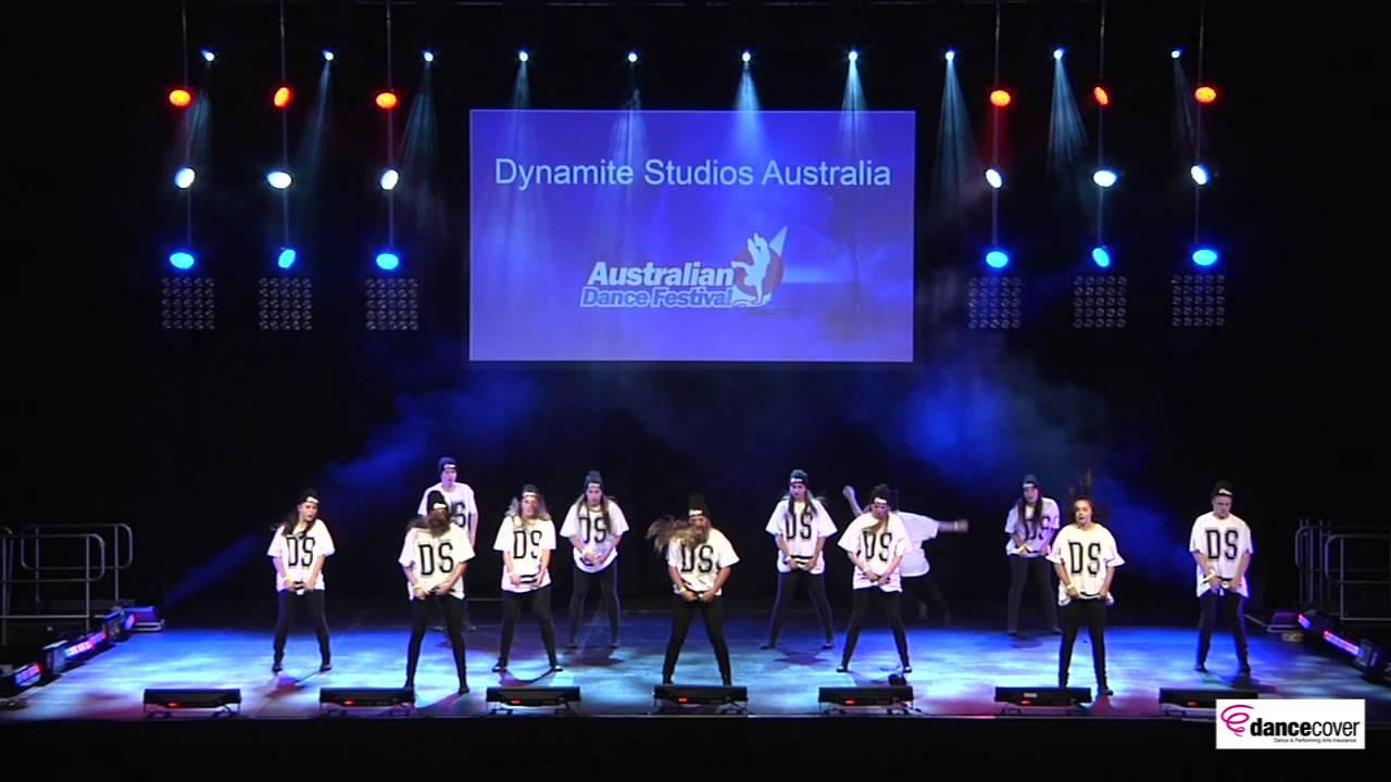 2014 australian dance festival dynamite studios youtube for Studio australia