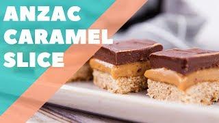 Anzac Caramel Slice | Good Chef Bad Chef S10 E64