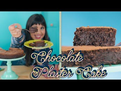 "Raiza's Densest, Fudgiest Chocolate ""Plaster"" Cake | Food Network"