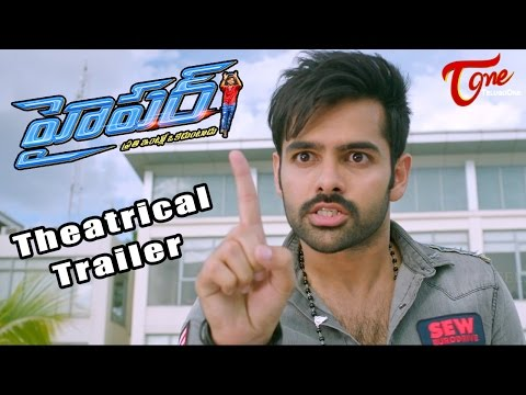 Hyper Movie Theatrical Trailer || Ram,...