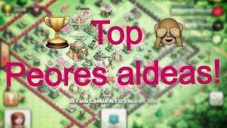 Las peores aldeas #4|Clash of clans Ft Frodo