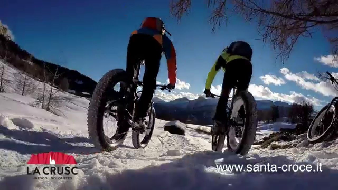 Alta Badia Santa Croce Fat Bike Youtube