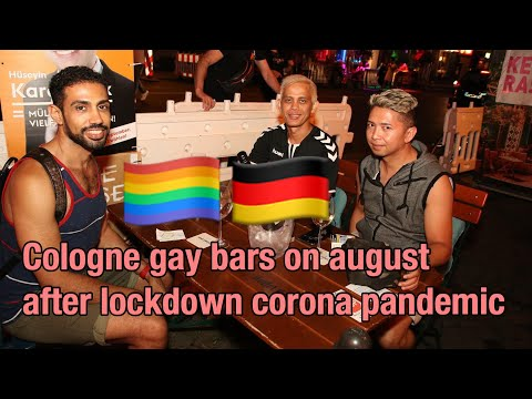 Cologne gay bars on august 2020 after lockdown corona pandemic 🏳🌈🌈