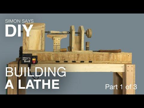 DIY Wood Lathe - Part 1 of 3