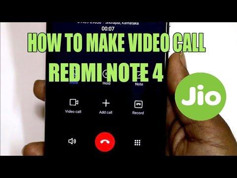 video call redmi note 5