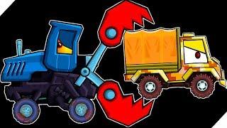 СУПЕР ТРАКТОР - Игра Car Eats Car 3 Хищные машинки # 10 Игра про машинки, гонки. Игры 2018