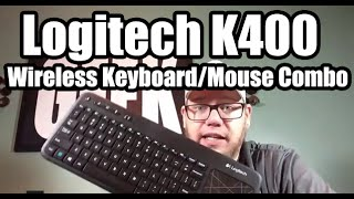 Logitech K400 Review - Wireless Keyboard and Mouse Combo