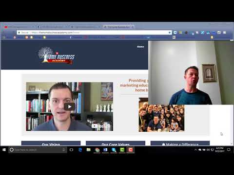5 minute introduction to the Home Business Academy
