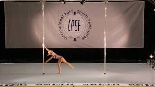 RUZENKA KUNSTYROVA - SENIOR WOMEN - PRELIM - WORLD POLE SPORTS CHAMPIONSHIPS 2016