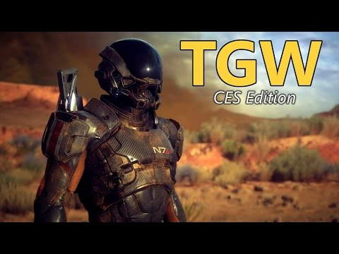 Nvidia, AMD, Monitors & Laptops | CES 2017 - TGW #82